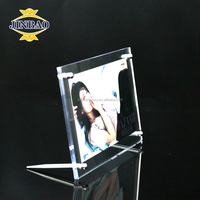 JINBAO Crystal acrylic magnetic photo frame clear factory directly sale