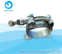 Carbon and Stainless Steel hose metal clamp bracket for accumulator,pipes, hose and booster pump