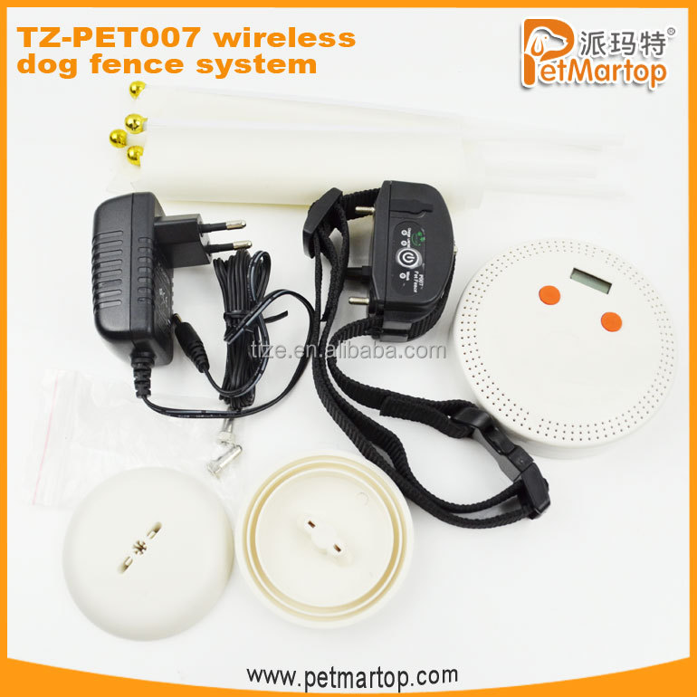 TZ-PET007 wireless electric dog fence