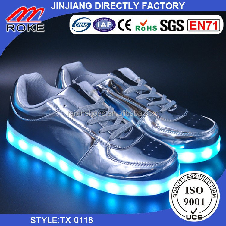 LED Light Rubber Sole Shoes for Man, Woman and Kids