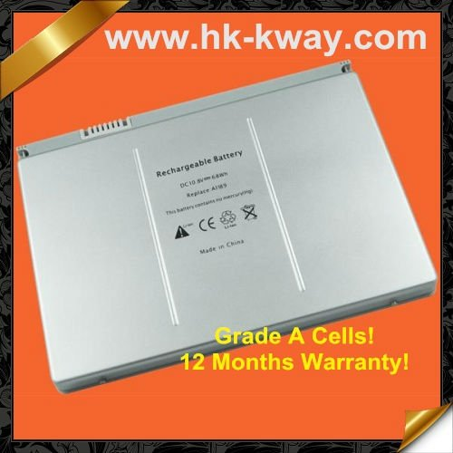 "Replacement Laptop Battery For Apple MacBook Pro 17"" A1151 MA092 MA611 A1189 MA458 A1261 A1229 MA458J/A MA458G/A MA458 KB5008"