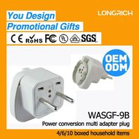 Universal fused multiple plug sockets,quality suppliers bs power cord with plug