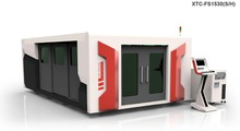 CNC Exchange table Fully enclosed fiber laser cutting machine for 16mm stainless carbon steel aluminium copper