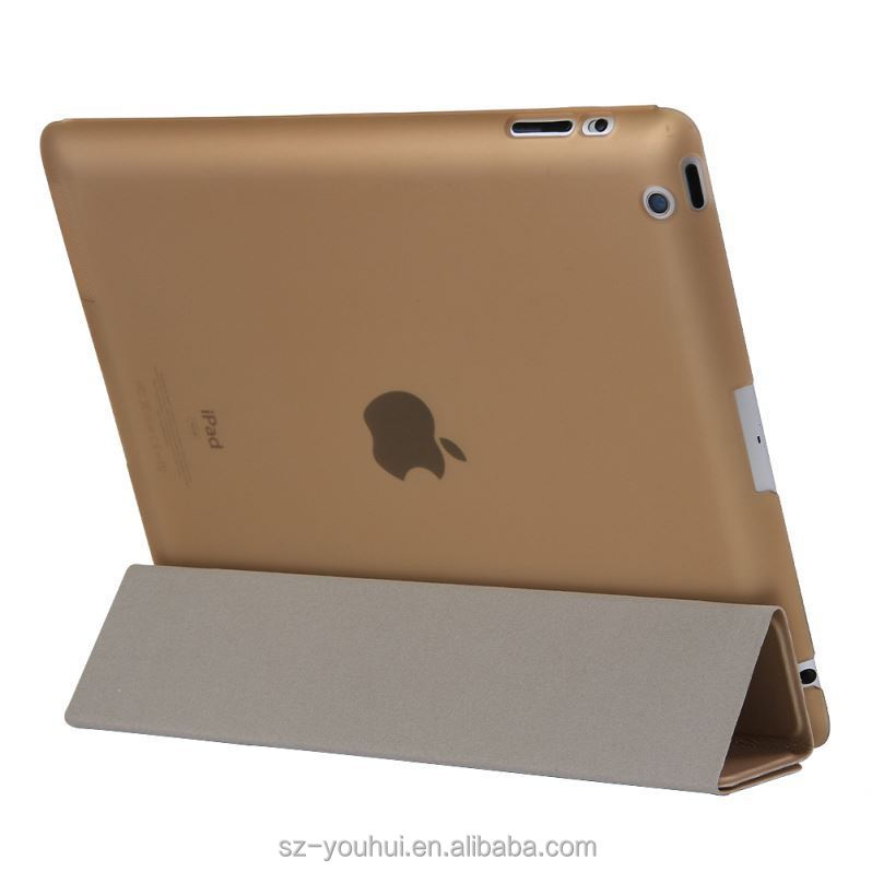 New arrival detachable design for ipad 2 3 4 case cover