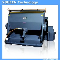 64 semi-automatic creasing and die cutting machine, semi automatic die cutting machine