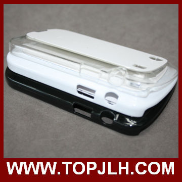 High quality sublimaton tpu bumper case for blackberry Q10