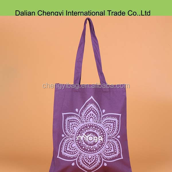 Factory price easy taking foldable printed polyester shopping bag