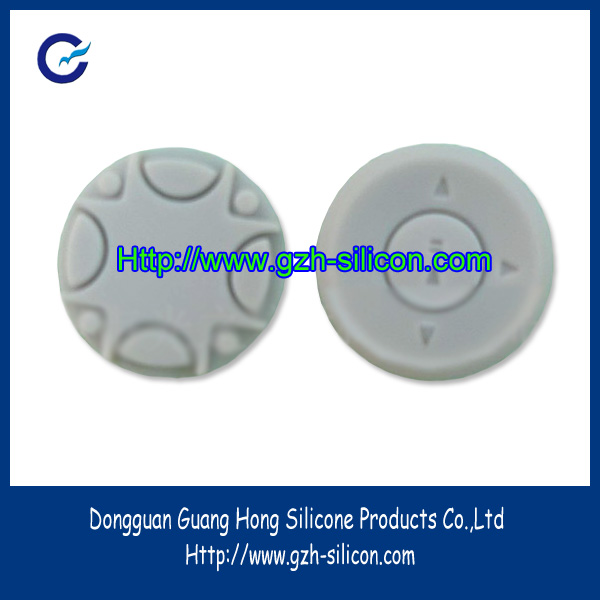 Custom Silicone Rubber power button