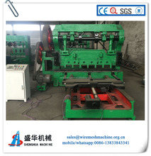 PLC control iron sheet Expanded Metal Mesh Machine for panel