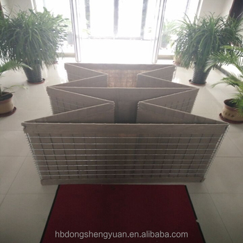 alibaba gold Professional manufacture military sand wall hesco barrier