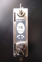 High quality 304SS coin operated lock for bathroom/dressing room/swimming pool locker