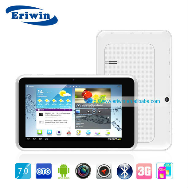 ZX-MD7003 7 inch 4.3 android tablet pc with ethernet port and mobile phone function