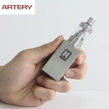2016 wholesale Artery ecig free sample Artery vapor gold rush kit ecig Mini box mod Artery ecig