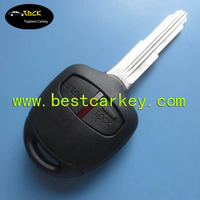 Good Price 2 button car remote key for mitsubishi remote key control for mitsubishi car key