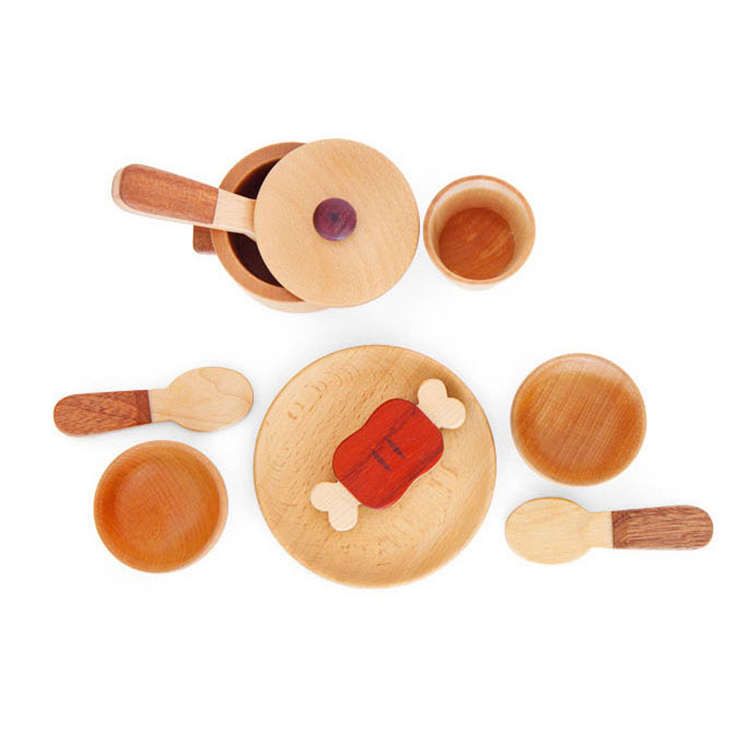 New Product 2017 kid wood kitchen toy for wholesales