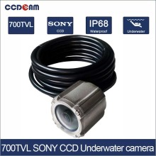 Hot promotion 700TVL 100m Sony CCD IP68 Underwater camera for swimming surveillance