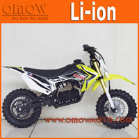 Newest 900W Lithium Battery Li-ion Electric Dirt Bike For Kids