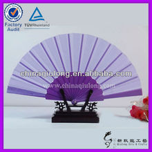 Spanish Style Plastic Items Promotional Folding Fan