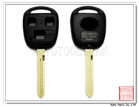 3 BUTTON REMOTE KEY FOB CASE SHELL FOR TOY47 TOYOTA YARIS HIACE COROLLA AVENSIS CAMRY [ AS007022 ]