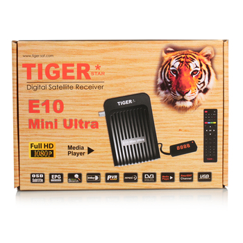 Tiger new Digital Satellite Receiver E10 Mini Ultra Free To Air Set top Box