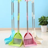 Factory wholesale various sweeping broom and dustpan broom soft cleaning plastic broom