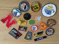custom cheap wholesale embroidered patch