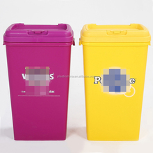25KG New product dogs square hot sale airtight pet food container with lid