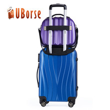 UBORSE Luggage Suitcase with makeup cosmetic bag/case