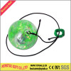 Flashing LED String Bounce Ball With Ribbon Water