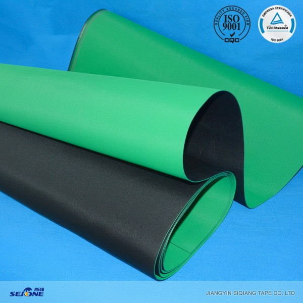 1.5MM thickness black/green rotor spinning frames belt high conveyor belt importers