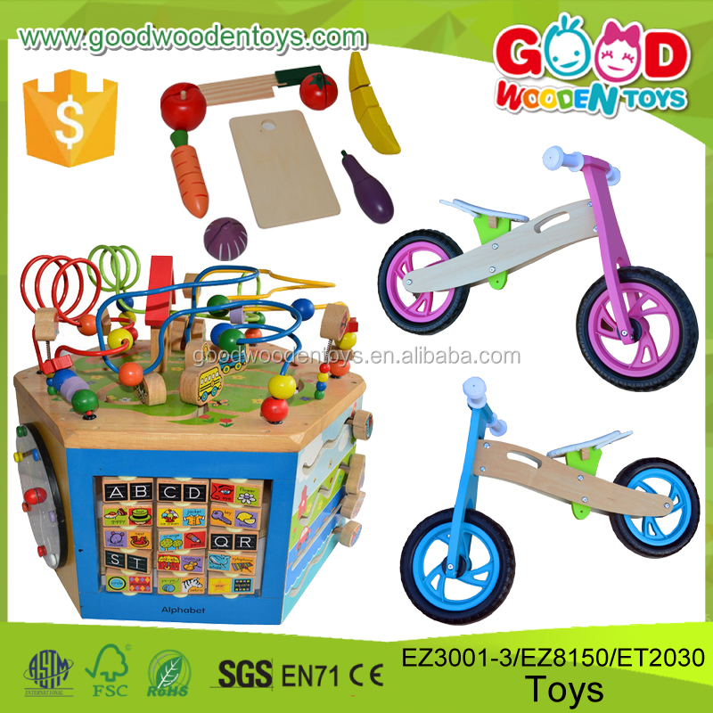 Continued Selling Stocks Item Kindergarten Play Toys Child's Creativity Biggins Educational Wooden Toy for Kids