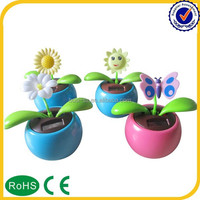 2015 new Promotional solar powered dancing flower