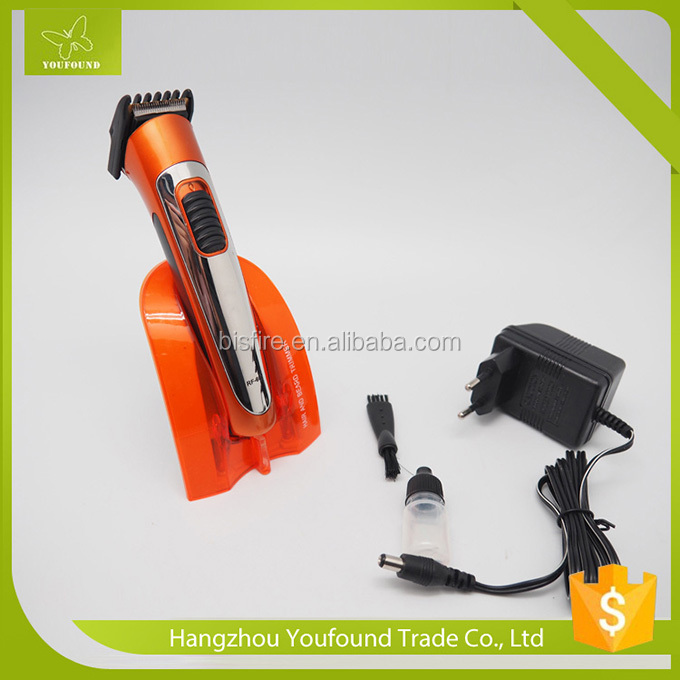 RF-607 Good Quanlity Stand Charging Hair Clipper Professional Rechargeable Hair Cutter Auto Barber Trimmer