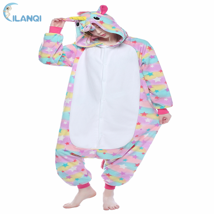 ALQ-<strong>A085</strong> Hot new products animal jumpsuit onesie adult unicorn pajamas