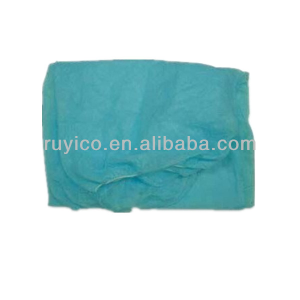 Nonwoven disposable bed cover with elastic around for hospital