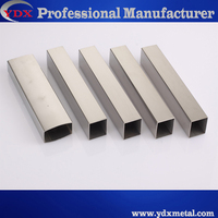 0.3MM thin square stainless steel tube