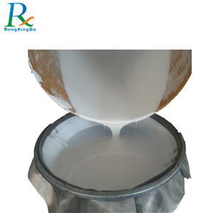 Two part rtv silicone rubber, molding silicone rubber material for mold making