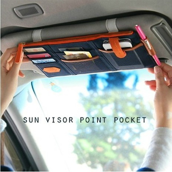promotion car visor organizer