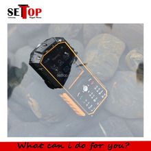 Rugged phone 2.4inch dual big flashlight industrial dual sim waterproof mobile phone price list without camera