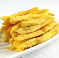 Delicious Vacuum Fried Yellow Sweet Potato Chips & Fries