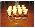 Engraved 12 MINI Ice Cream Cone Holder