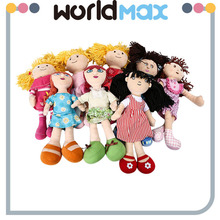 Festival Gift Plush Little Girl Beautiful Doll Baby Toy