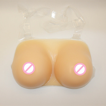 Silicone Big Breast for Shemale Artificial Boobs One-piece Style 1700g/pair Cross Dresser Halloween Favorite