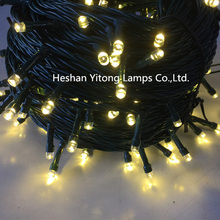 Outdoor new christmas warm white led string lights