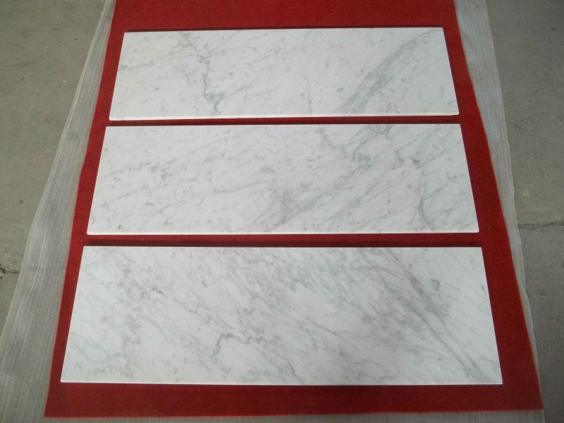 Italian Bianco Carrara Mosaic Tile White Marble Floor Design Buy - 36 inch marble tile