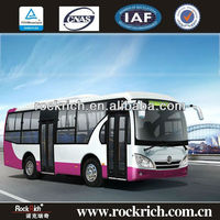Brand 8.5meters Dongfeng 40 seats low floor city bus with YC Engine