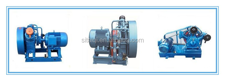 H-6S/8S Vertical Belt unit air-cooled marine Type air compressor
