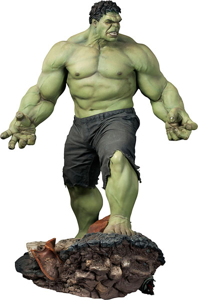 Green giant the Hulk , life size statue 2.4 meters