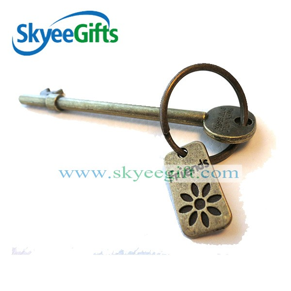 High quality custom design metal trolley coin keyring/keychain for supermarket/shopping cart