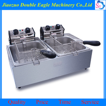 China stainless steel deep fryer/automatic chicken fryer machine price